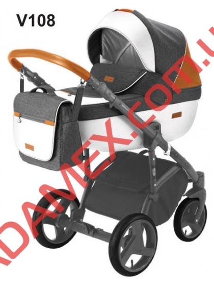 Коляска 2в1 Adamex Massimo Sport V108