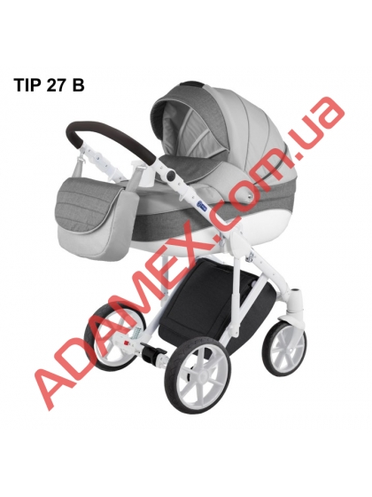 Коляска 2в1 Adamex Dragon Tip 27 B