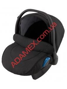 Автокресло Adamex Kite BR607 черный (цветной люрекс)