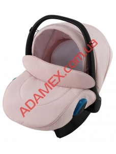 Автокресло Adamex Kite NR448 светло-розовая пудра