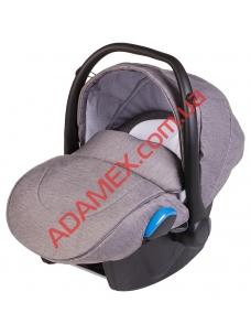 Автокресло Adamex Kite серый