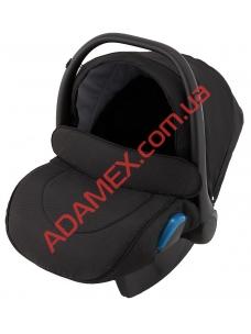 Автокресло Adamex Kite BR610 черный (малиной люрекс)