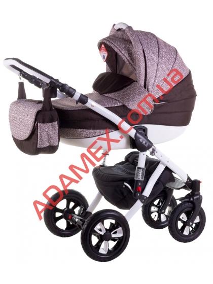 Коляска 2в1 Adamex Avila Len 257W