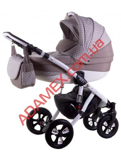 Коляска 2в1 Adamex Avila Len 353W