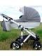 Коляска 2в1 Adamex Galactic Eco 604K