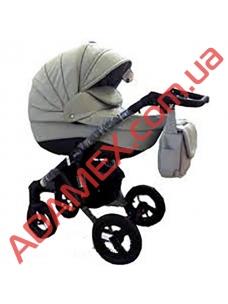 Коляска 2в1 Adamex Gloria 49 S (кожа)