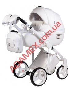 Коляска 2в1 Adamex Luciano Delux кожа 100% Q-107