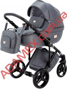 Коляска 2в1 Adamex Luciano Jeans Q3
