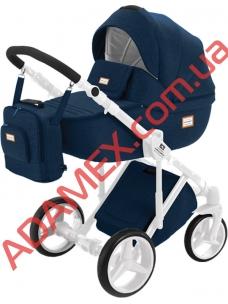 Коляска 2в1 Adamex Luciano Jeans Q5