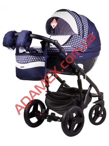 Коляска 2в1 Adamex Monte Carbon Deluxe D61