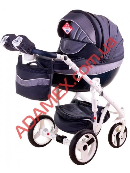 Коляска 2в1 Adamex Monte Carbon Deluxe D24