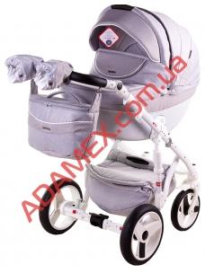 Коляска 2в1 Adamex Monte Carbon Deluxe D27