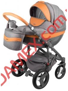 Коляска 2в1 Adamex Monte Carbon Deluxe D20