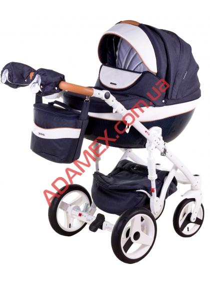 Коляска 2в1 Adamex Monte Carbon Deluxe D29