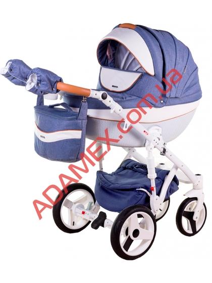 Коляска 2в1 Adamex Monte Carbon Deluxe D33