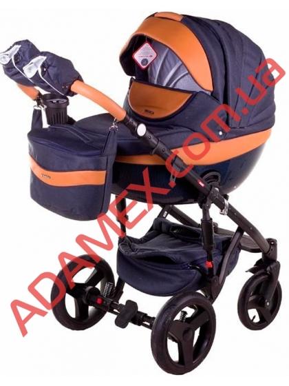 Коляска 2в1 Adamex Monte Carbon Deluxe D4