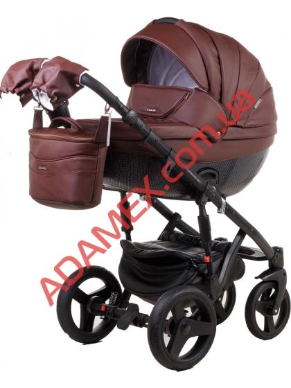 Коляска 2в1 Adamex Monte Carbon Deluxe 54S-CZ