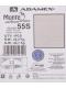 Коляска 2в1 Adamex Monte Carbon Deluxe 55S-SZ