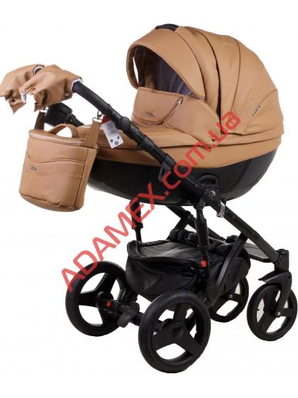 Коляска 2в1 Adamex Monte Carbon Deluxe 56S-CZ