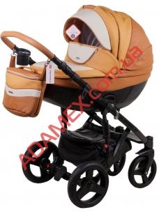 Коляска 2в1 Adamex Monte Carbon Deluxe D104