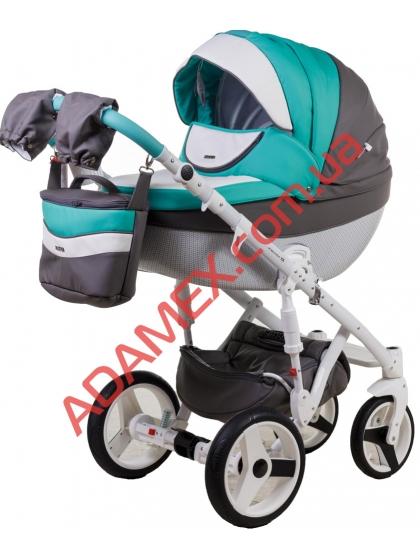 Коляска 2в1 Adamex Monte Carbon Deluxe D105