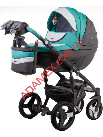 Коляска 2в1 Adamex Monte Carbon Deluxe D106
