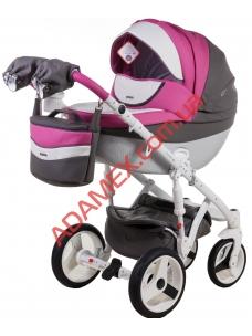 Коляска 2в1 Adamex Monte Carbon Deluxe D107