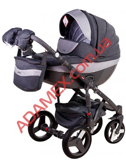 Коляска 2в1 Adamex Monte Carbon Deluxe D21