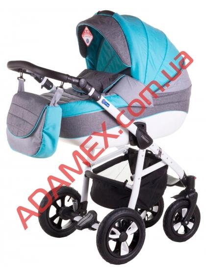 Коляска 2в1 Adamex Neonex Tip-21B