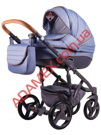 Универсальная коляска 2в1 Adamex Prince X-2