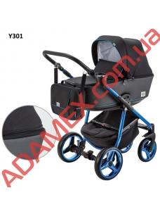 Коляска 2в1 Adamex Reggio Limited Chrom Y301