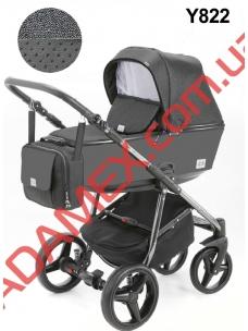 Коляска 2в1 Adamex Reggio Limited Chrom Y822