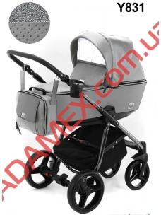 Коляска 2в1 Adamex Reggio Limited Chrom Y831