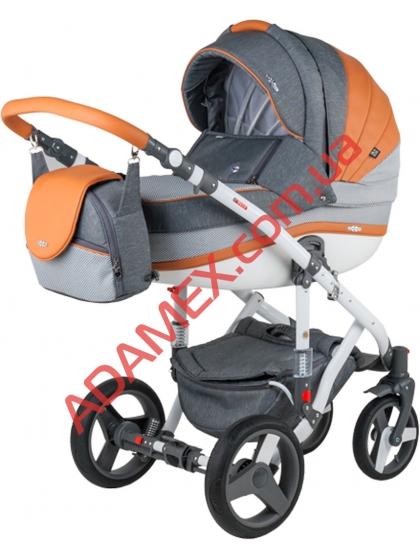 Коляска 2в1 Adamex Vicco Carmel&Grey A21