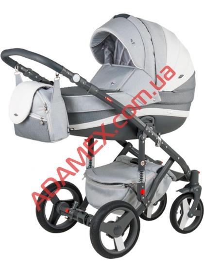 Коляска 2в1 Adamex Vicco Carmel&Grey A24