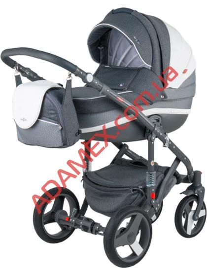 Коляска 2в1 Adamex Vicco Carmel&Grey A25
