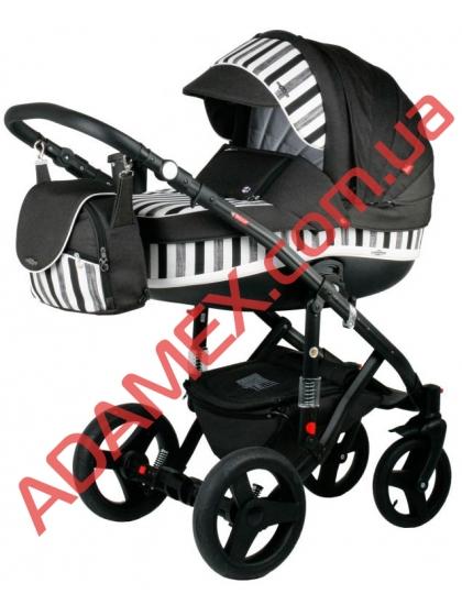 Коляска 2в1 Adamex Vicco World Zebra