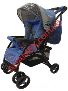 Прогулочная коляска Baciuzzi B14 indigo