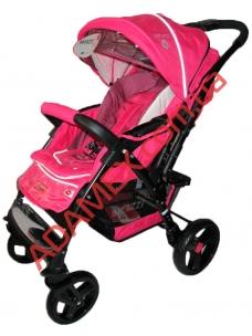 Прогулочная коляска Baciuzzi B14 pink