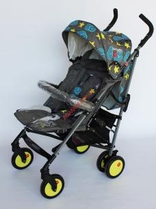 Прогулочная коляска-трость Baciuzzi B7 Jeans grey