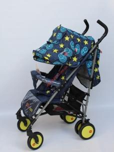 Прогулочная коляска-трость Baciuzzi B7 Jeans blue