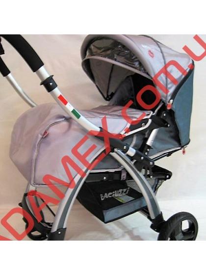 Прогулочная коляска Baciuzzi B20 grey