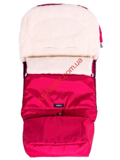 Конверт на овчине Womar №20 с удлинением Pink