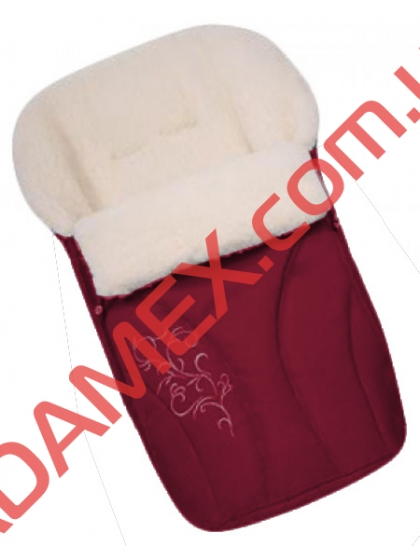 Конверт на овчине Womar №25 с вышивкой Cherry