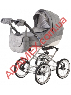 Коляска 2в1 Adamex Lara Retro Eco 603K