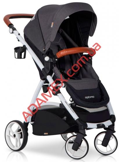 Прогулочная коляска EasyGo Optimo Anthracite