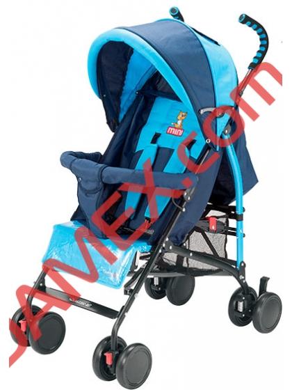 Прогулочная коляска-трость Quatro Mini Blue №3