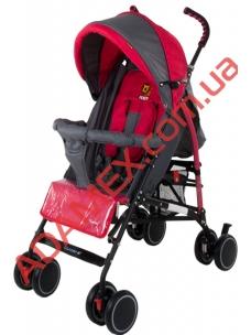Прогулочная коляска-трость Quatro Mini Red