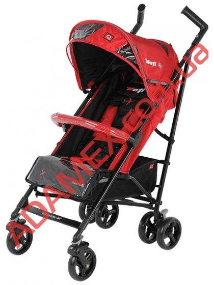 Прогулочная коляска-трость Quatro Nafi Red
