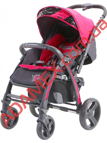 Прогулочная коляска Quatro Rally Pink